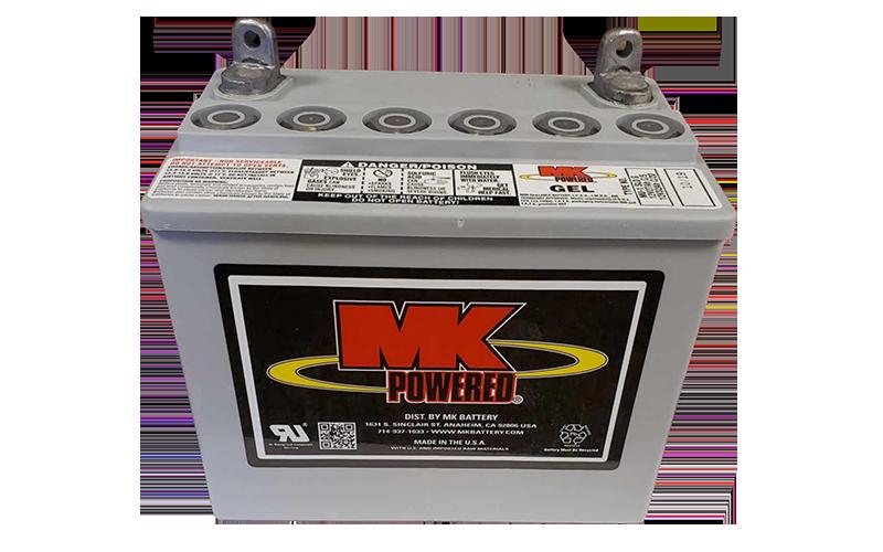 Amigo mk battery gel 32ah mu 1 sld g