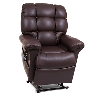 Golden maxicomfort cloud with twilight positioning recliner lift chair