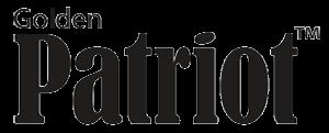 Golden patriot logo