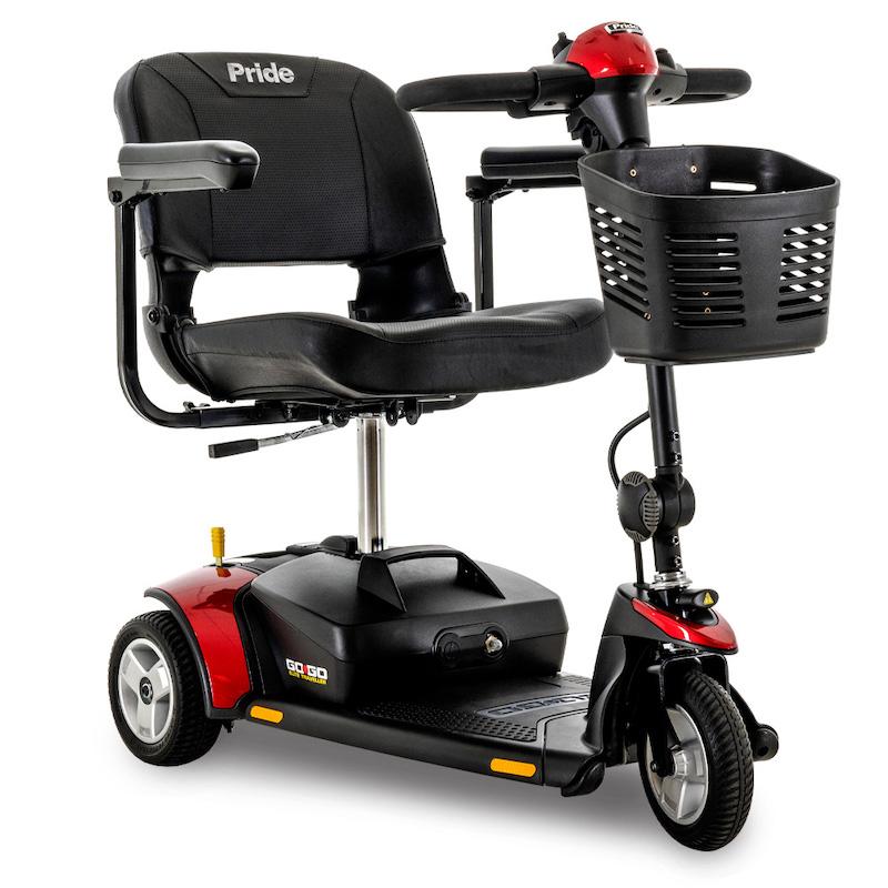 go go elite traveller 3 wheel red